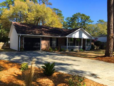 Sunset Beach Single Family Home For Sale: 8944 Landing Drive SW