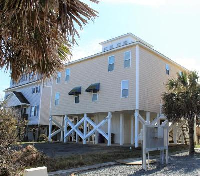 North Topsail Beach, Surf City, Topsail Beach Single Family Home For Sale: 3730 Island Drive