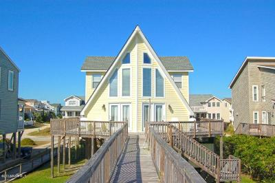 Holden Beach Single Family Home For Sale: 1163 Ocean Boulevard W