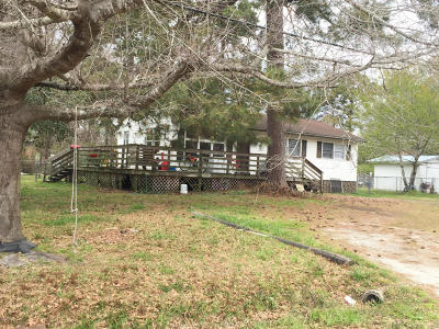 Onslow County Single Family Home For Sale: 721 Tallman Circle
