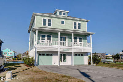 North Topsail Beach, Surf City, Topsail Beach Single Family Home For Sale: 3022 3rd St
