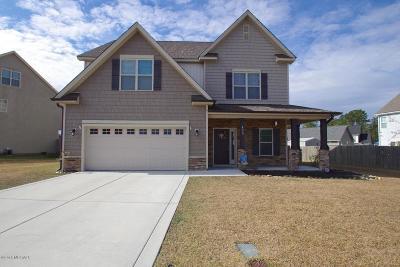 Jacksonville Single Family Home For Sale: 403 Ashley Meadow Lane