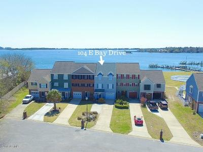 Sneads Ferry Condo/Townhouse For Sale: 104 E Bay Drive