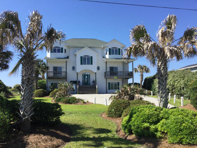 Indian Beach Single Family Home For Sale: 1827 Salter Path Road