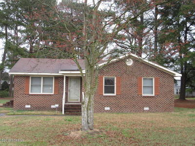 Greenville Single Family Home For Sale: 1860 Fred Drive