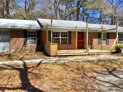 Southport Single Family Home For Sale: 208 Yaupon Way
