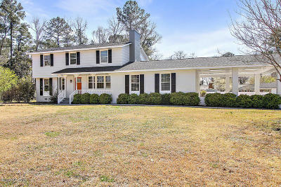 Jacksonville Single Family Home For Sale: 607 Shadowood Drive