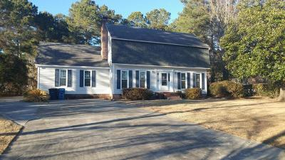 Onslow County Single Family Home For Sale: 217 Yale Circle