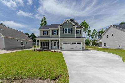 Holly Ridge Single Family Home Active Contingent: 105 Kings Harbor Drive