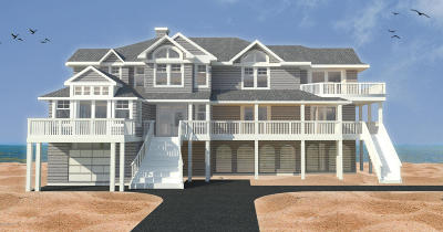 North Topsail Beach, Surf City, Topsail Beach Single Family Home For Sale: 402 New River Inlet Road