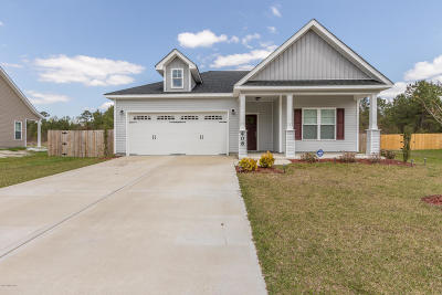 Richlands Single Family Home For Sale: 408 Old Stage Road