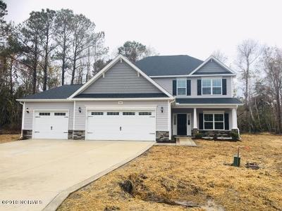 Sneads Ferry Single Family Home For Sale: 406 Scrubjay Court #Lot 16