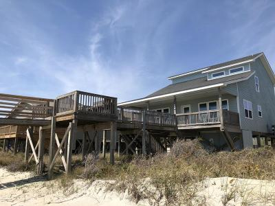 Oak Island Single Family Home For Sale: 1725 W Beach Drive