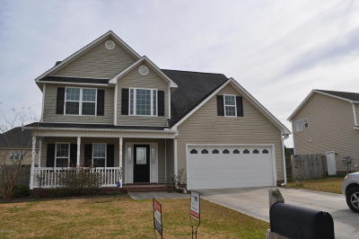 Onslow County Single Family Home For Sale: 307 Brunswick Drive