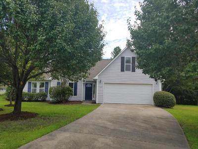 Hampstead Single Family Home For Sale: 105 Spanish Moss Court