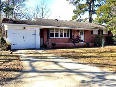 Onslow County Single Family Home For Sale: 4219 Richlands Highway