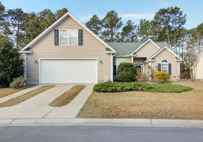 Southport Single Family Home For Sale: 4332 Frying Pan Road SE