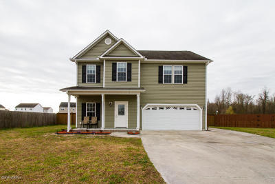 Onslow County Single Family Home For Sale: 117 Dukes Lake Circle