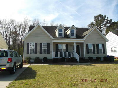 Winterville Single Family Home For Sale: 913 Sebring Drive