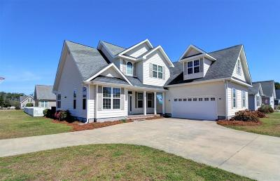 Morehead City Single Family Home For Sale: 3508 Player Lane