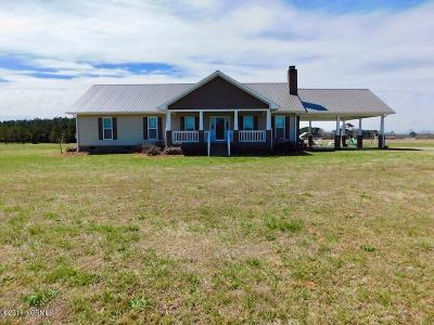Edgecombe County Single Family Home For Sale: 1666 Pinetops-Crisp Road