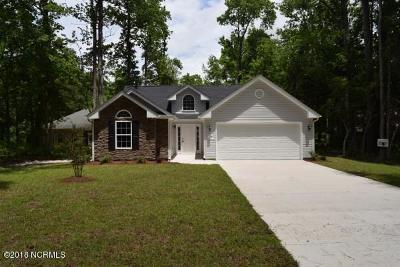 Carolina Shores Single Family Home For Sale: 3 Court 4 Northwest Drive