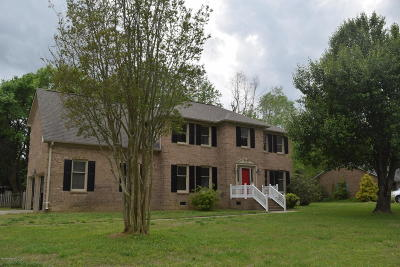 Greenville Single Family Home For Sale: 1806 Pheasant #Rn