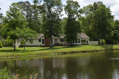 New Bern NC Single Family Home For Sale: $258,900