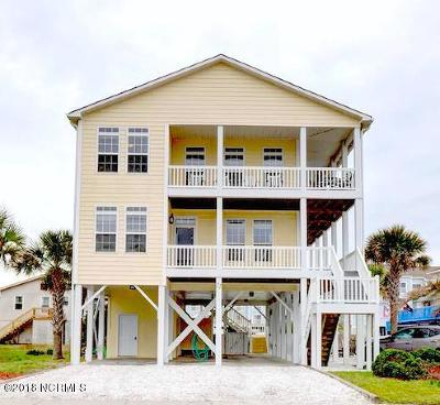 Ocean Isle Beach Single Family Home For Sale: 22 E Second Street