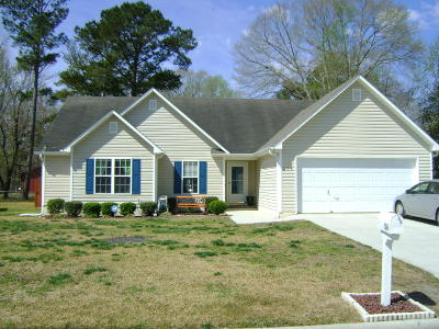 Jacksonville Rental For Rent: 106 Fall Drive