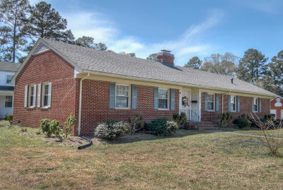 Edgecombe County Single Family Home For Sale: 611 N Howard Circle