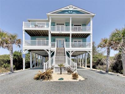 Holden Beach Single Family Home For Sale: 974 Ocean Boulevard W