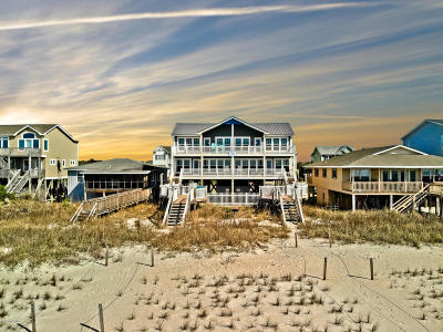 Holden Beach Single Family Home For Sale: 699 Ocean Boulevard W