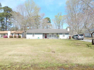 Jacksonville Single Family Home For Sale: 812 Mill River Road