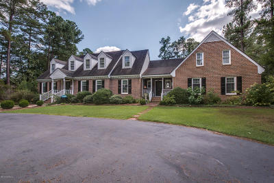 Nash County Single Family Home For Sale: 2909 Coleberry Trail