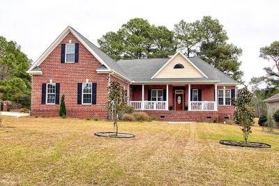Sneads Ferry Single Family Home For Sale: 548 N Shore Drive