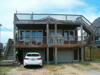 North Topsail Beach, Surf City, Topsail Beach Single Family Home For Sale: 1207 N Topsail Drive