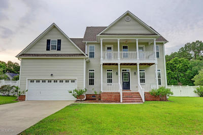 Swansboro Single Family Home For Sale: 119 Forest Ridge Trail