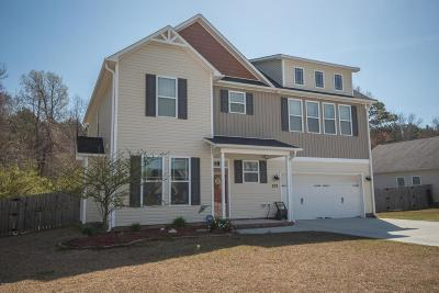 Swansboro Single Family Home For Sale: 233 Channel Marker Loop