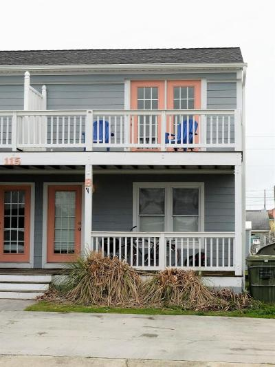 Atlantic Beach Condo/Townhouse For Sale: 115 Center Drive #B