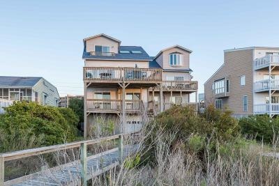 North Topsail Beach, Surf City, Topsail Beach Multi Family Home For Sale: 1861&1859 New River Inlet