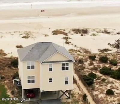 Oak Island Single Family Home For Sale: 2201 E Beach Drive