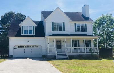 Sneads Ferry Single Family Home For Sale: 217 Derby Downs Drive
