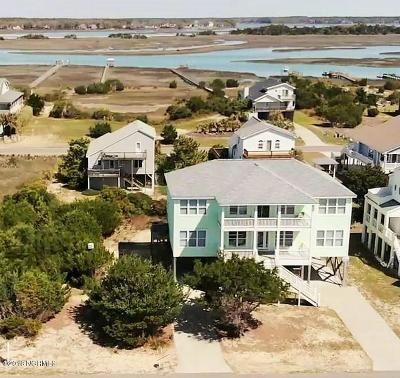 Oak Island Single Family Home For Sale: 6620 W Beach Drive