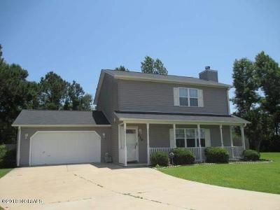 Hubert Single Family Home For Sale: 210 Bob White Road