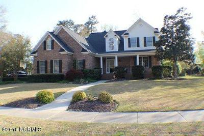 Greenville Single Family Home For Sale: 2100 Bloomsbury Road
