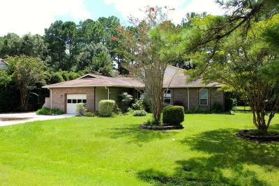 Onslow County Single Family Home For Sale: 1113 Pine Valley Road