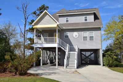 Harkers Island Single Family Home For Sale: 126 Pintail Lane