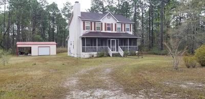 Southport Single Family Home Active Contingent: 880 Glenn Oak Drive