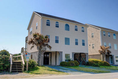 North Topsail Beach, Surf City, Topsail Beach Single Family Home For Sale: 2202 S Shore Drive